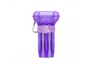 krystal one purple