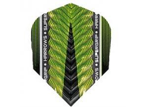 Letky SUPERGRIP standard green/black