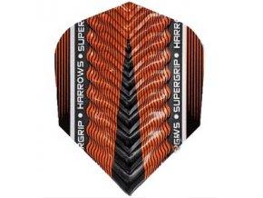 Letky SUPERGRIP X standard orange/black