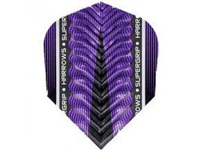 Letky SUPERGRIP X standard purple/black