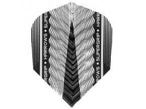 Letky SUPERGRIP X standard silver/black