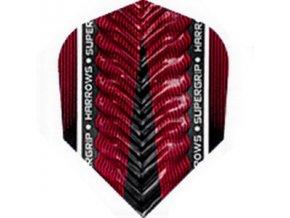 Letky SUPERGRIP X standard red/black