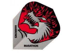 Letky MARATHON  standard silver/red Dragon