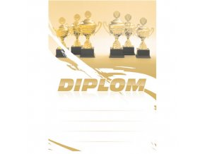 Diplom 6691 A4 - Poháry