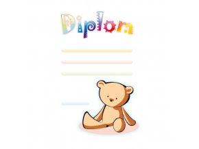Dětský diplom 6701 A4 - Medvídek