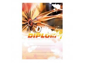 Diplom 6678 A4 - Šipky