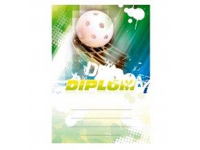 Diplom 6614 A4 - Florbal