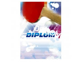 Diplom 6626 A4 - Stolní tenis
