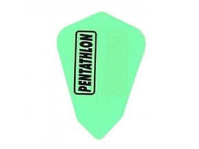 Letky Pentathlon fantail neon green