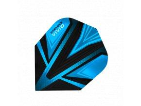 Letky VIVID standard black/aqua blue