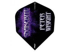Letky Peter Wright standard Purple Logo