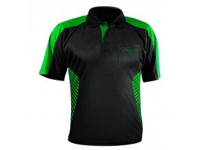 Tričko VIVID Dart Shirt s límečkem green