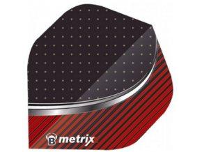 Letky METRIXX standard black/red