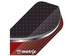 Letky METRIXX slim black/red
