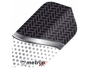 Letky METRIXX slim black/white