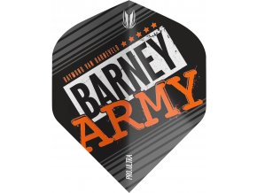 334330 BARNEY ARMY PRO.ULTRA BLACK NO2 FLIGHT BAGGED 2019