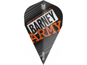 334350 BARNEY ARMY PRO.ULTRA BLACK VAPOR FLIGHT BAGGED 2019