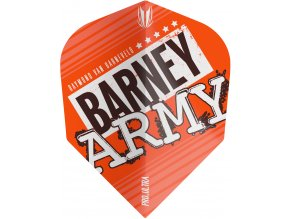 334270 BARNEY ARMY PRO.ULTRA ORANGE NO6 FLIGHT BAGGED 2019