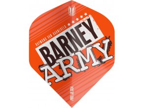 334280 BARNEY ARMY PRO.ULTRA ORANGE NO2 FLIGHT BAGGED 2019