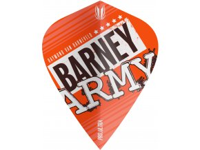 334290 BARNEY ARMY PRO.ULTRA ORANGE KITE FLIGHT BAGGED 2019