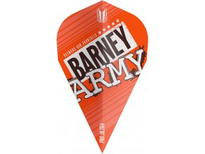 334300 BARNEY ARMY PRO.ULTRA ORANGE VAPOR FLIGHT BAGGED 2019
