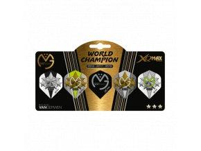 Michael van Gerwen MvG World championship 2019 multipack flights