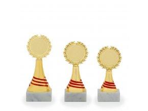 Trofej C16816 zlatá/červená