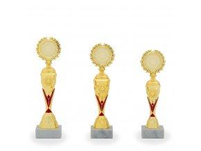 Trofej C16807 zlatá/červená