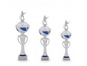 Trofej C12024 stříbrná/modrá