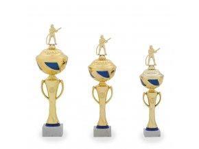 Trofej C12025 zlatá/modrá