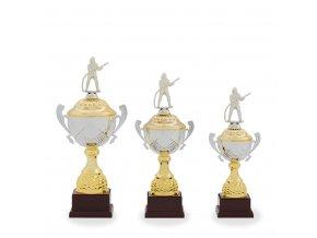 Trofej C12027 zlatá/stříbrná