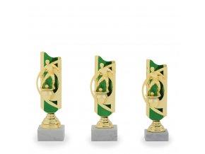 Trofej C12507 fotbal zlatá/zelená