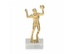 Screenshot 2019 10 16 Figurka volejbal muž 15 cm, zlato, včetně podstavce