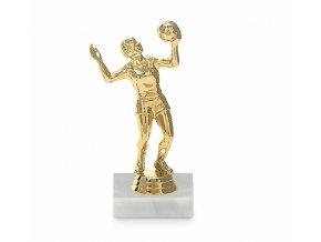 Screenshot 2019 10 16 Figurka volejbal žena 15 cm, zlato, včetně podstavce