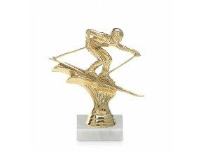 Screenshot 2019 10 16 Figurka sjezdové lyže, 14 cm, zlatá, včetně podstavce