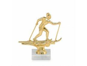 Screenshot 2019 10 16 Figurka běžkaře, 10 cm, zlatá, včetně podstavce