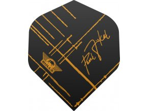 dartflight bulls powerflite 50864 Black with Sign