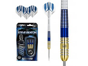 Steave Beaton steel gold blue 24