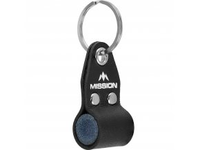 mission dart sharpener inside keyring g