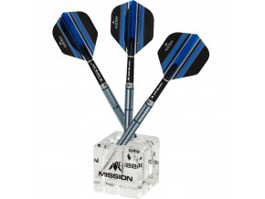 mission cube darts display stand clear g