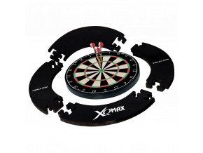 QD7000400 XQ Max Tournament Dart set with surround