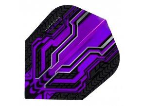 Letky PLEXUS standard No6 purple/black