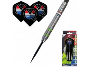 Šipky soft XQMAX MvG Mighty Generation III 90% 23g