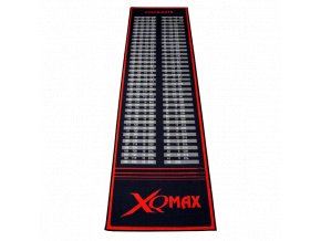 Koberec XQ Max Check out Dartmat black red