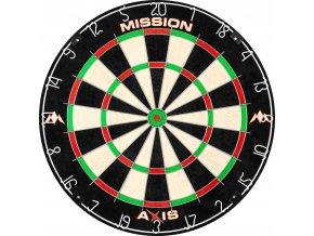 mission axis dartboard tri wire bristle g