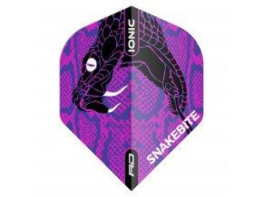 F6570 IONIC SnakeHeadPurple x1