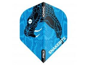F6569 IONIC SnakeHeadBlue x1