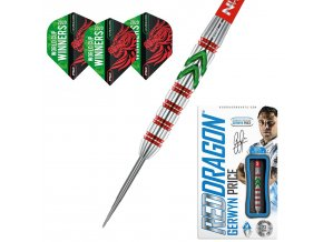 Šipky steel GERWYN PRICE World Cup Winner Edition 90% 23g