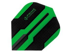 Letky Prime standard No6 black/green čáry