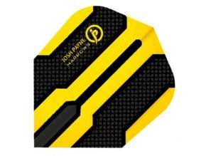 Letky Prime standard No6 black/yellow čáry